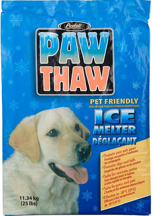 Paw Thaw Pet Friendly Ice Melt 25lbs