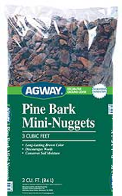 Agway Pine Bark Mini Nuggets 3 cu. ft. (Bulk bag)