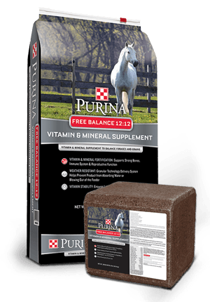 Purina® Free Balance® 12:12 Horse Supplement