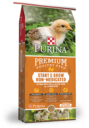 Purina® Chick Start & Grow® Non-Medicated