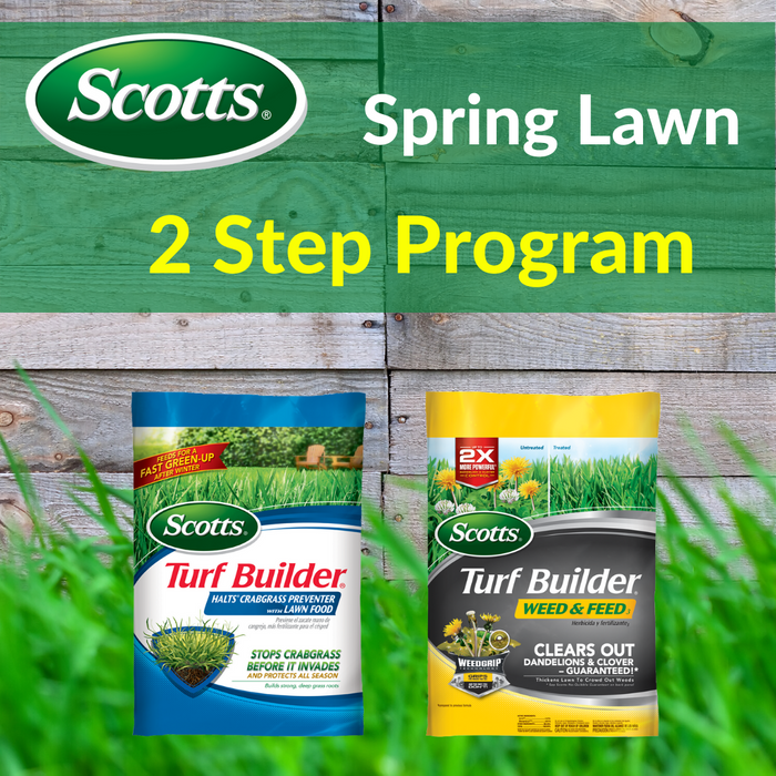 Scotts Spring Lawn 2 Step Program 15,000 sq. ft.