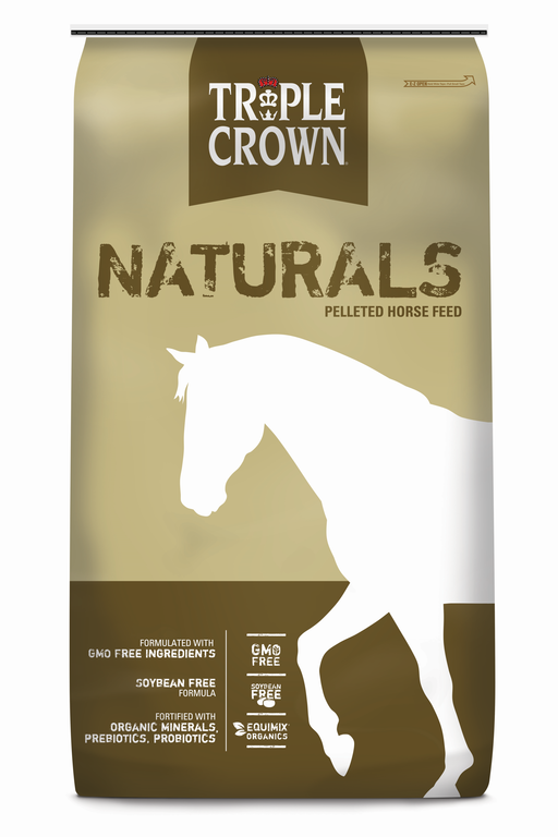 Triple Crown Naturals Pelleted Horse Feed