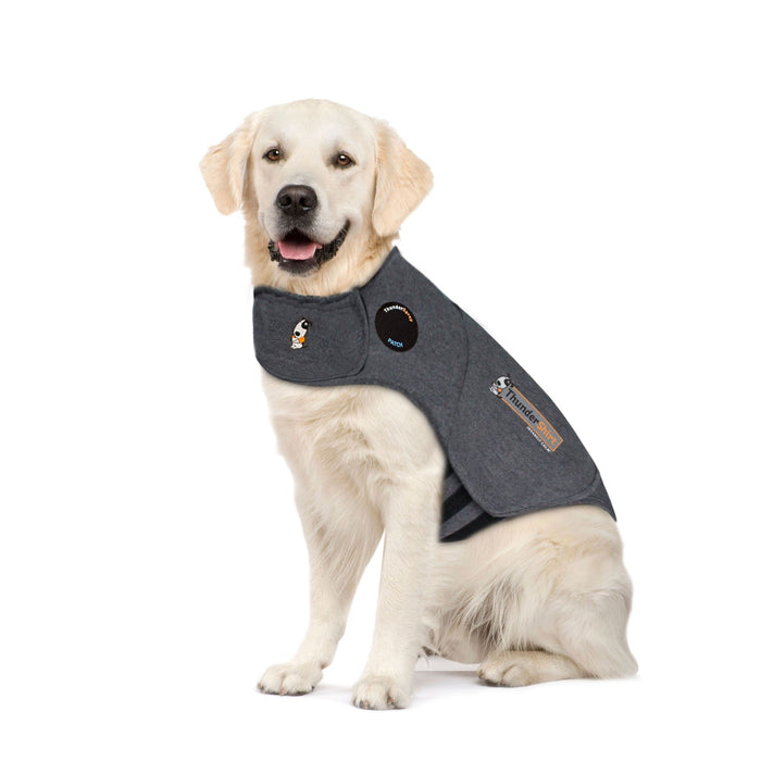 Thunderworks ThunderShirt for Dogs: Heather Gray Classic