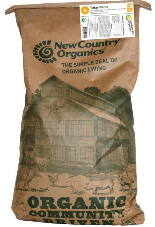 New Country Organics Turkey Starter
