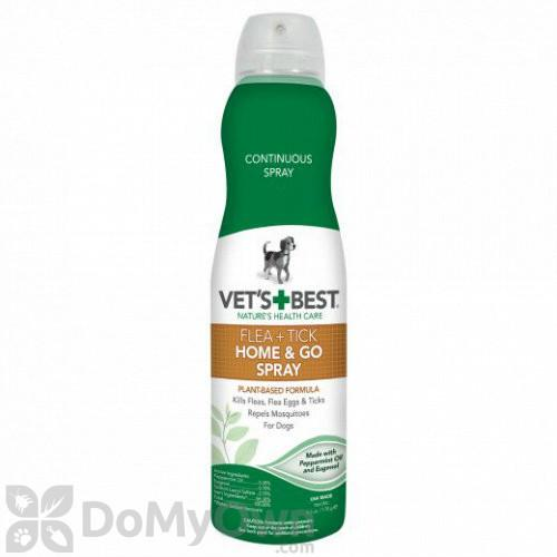 Vet's Best Flea + Tick Home & Go Spray