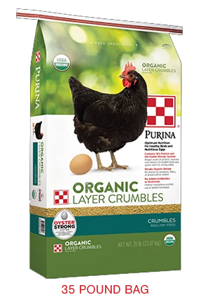 Purina® Organic Layer Crumbles