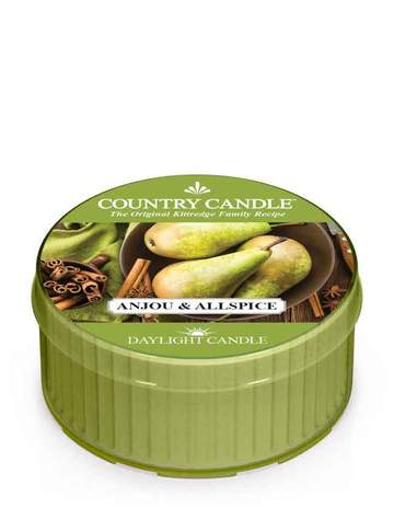 Country Candle by Kringle, Anjou & Allspice, Single Daylight