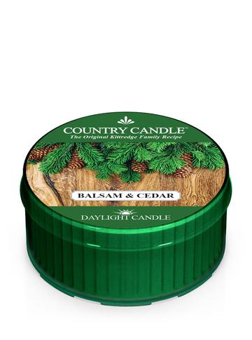 Country Candle by Kringle, Balsam & Cedar, Single Daylight