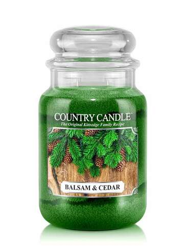 Country Candle by Kringle, Balsam & Cedar, 2-wick Jars