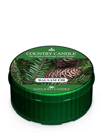 Country Candle by Kringle, Balsam Fir, Single Daylight