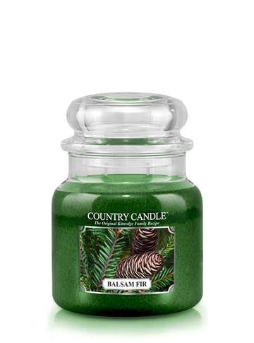 Country Candle by Kringle, Balsam Fir, 2-wick Jars