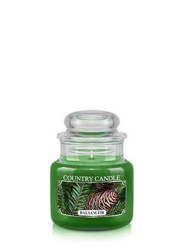 Country Candle by Kringle, Balsam Fir, 3.7oz Mini Jar