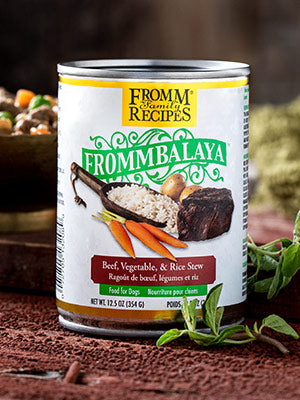 Fromm Frommbalaya Beef, Vegetable, & Rice Stew Dog Food