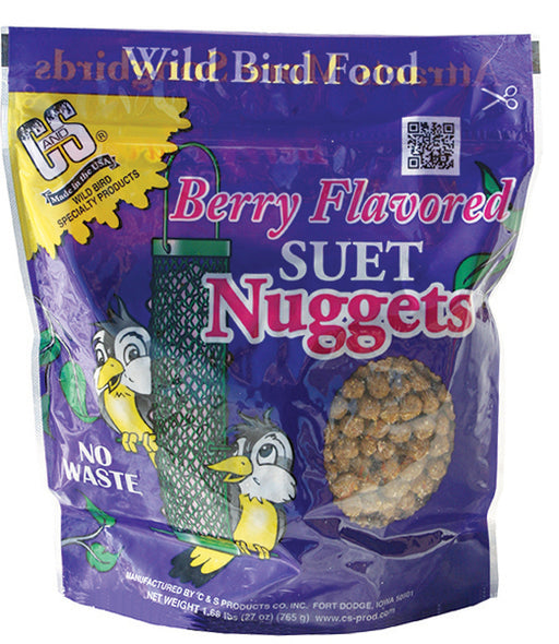 Berry Flavored Suet Nuggets, 27oz