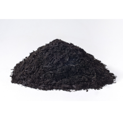 Black Dyed Cedar Mulch 3 cu. ft. bags - 1 yard (9 bags)