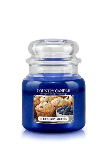 Country Candle by Kringle, Blueberry Muffin, 2-wick Jars