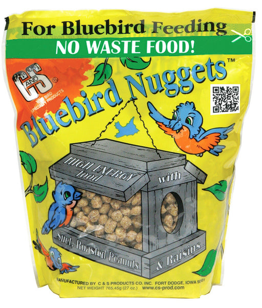 Bluebird Suet Nuggets, 27oz