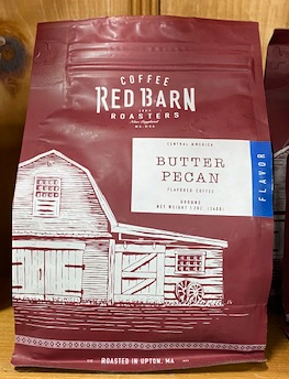 Red Barn Coffee Roasters, Butter Pecan, Ground, 12oz