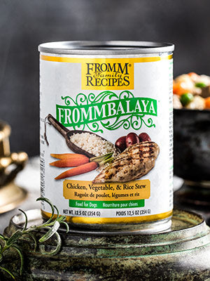 Fromm Frommbalaya Chicken, Vegetable, & Rice Stew Dog Food