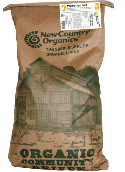 New Country Organics Soy Free Layer Classic Grind