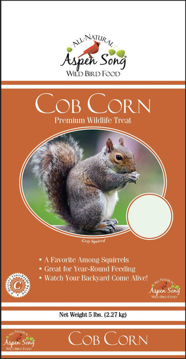 Aspen Song Cob Corn Premium Wildlife Treat