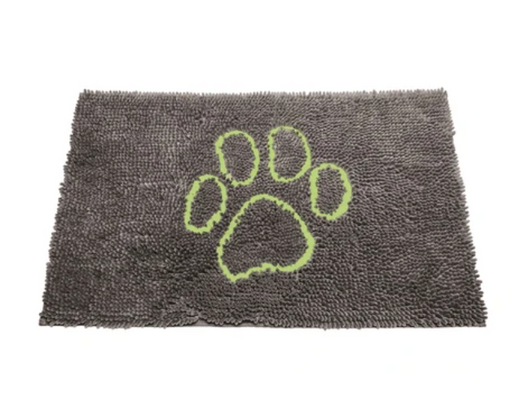 The Original Dirty Dog Doormat, Cool Grey, 3 sizes available