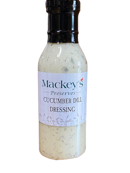 Mackey's Preserves, Cucumber Dill Salad Dressing, 12oz