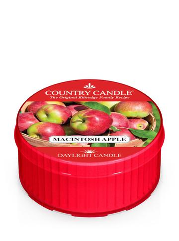 Country Candle by Kringle, Macintosh Apple, Single Daylight