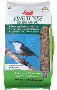 Lyric Fine Tunes Wild Bird Food