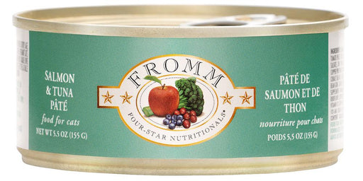Fromm Four Star Salmon & Tuna Pate Cat Food Can