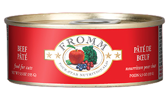 Fromm Four Star Beef Pate Cat Food Can
