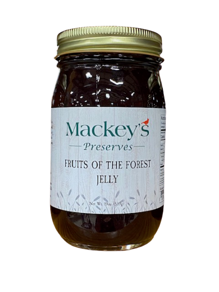 Mackey's Preserves, Fruits of the Forest Jelly, 19oz