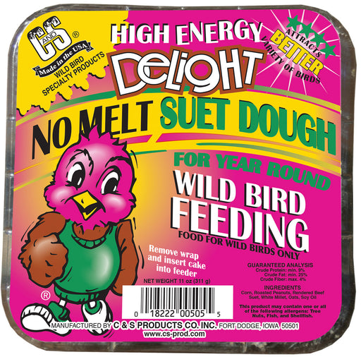 High Energy Delight No Melt Suet Dough, 11oz