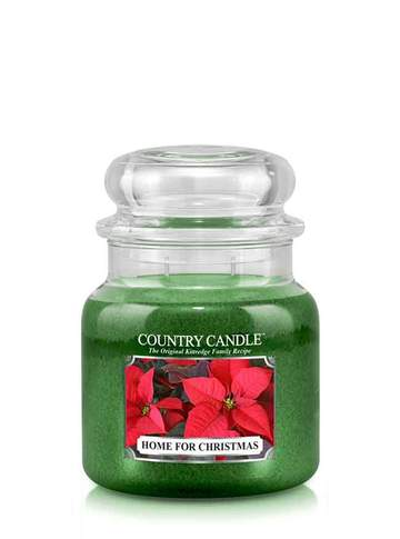 Country Candle by Kringle, Home for Christmas, 2-wick Jars
