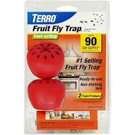 TERRO Fast-Acting Fruit Fly Trap, 2pk