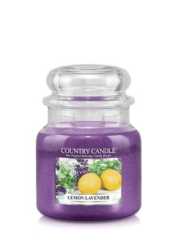 Country Candle by Kringle, Lemon Lavender, 2-wick Jars