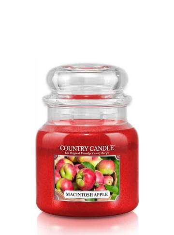 Country Candle by Kringle, Macintosh Apple, 2-wick Jars