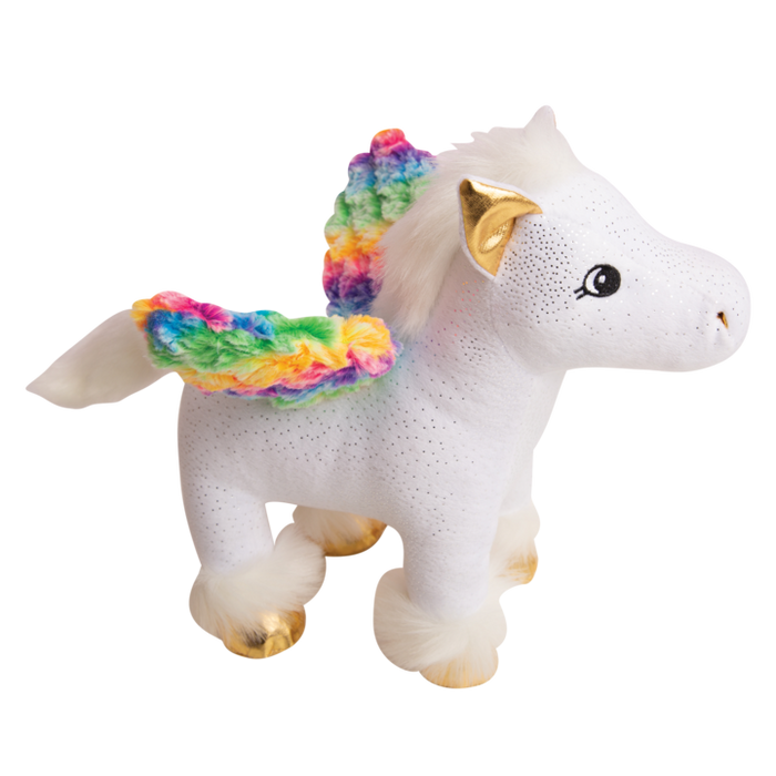 Snugarooz Peggy the Pegasus Dog Toy