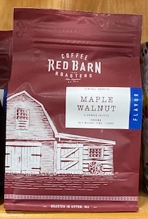 Red Barn Coffee Roasters, Maple Walnut, Ground, 12oz