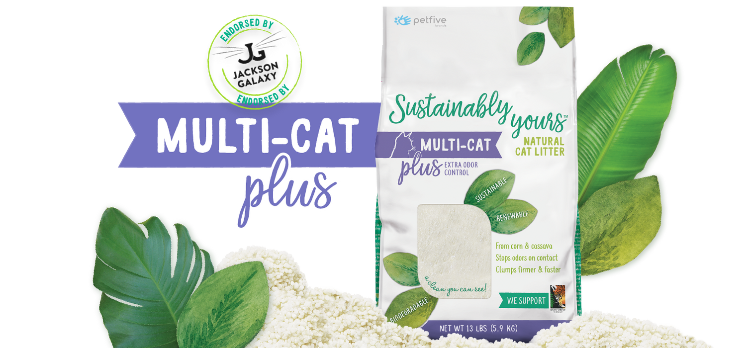 Sustainably Yours Multicat Cat Plus Litter