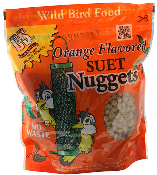 Orange Flavored Suet Nuggets, 27oz