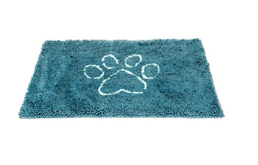 The Original Dirty Dog Doormat, Pacific Blue, 3 sizes available