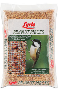 Lyric Peanut Pieces Bird Food