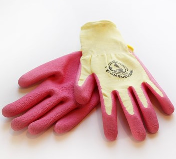 Woman's Work Latex Weeder Gloves