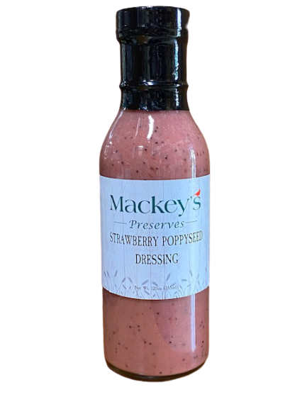 Mackey's Preserves, Strawberry Poppyseed Salad Dressing, 12 fl oz