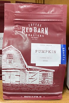 Red Barn Coffee Roasters, Pumpkin, Ground, 12oz