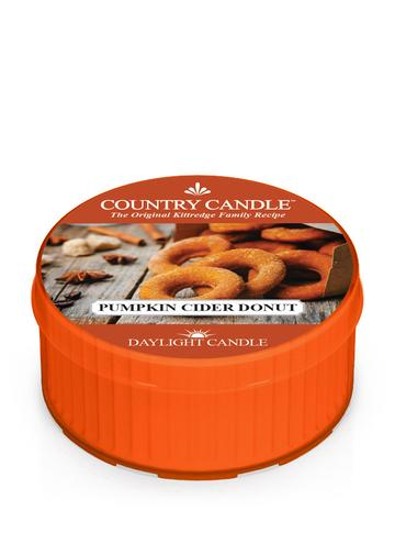 Country Candle by Kringle, Pumpkin Cider Donut, Single Daylight