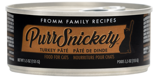 Fromm PurrSnickety Turkey Pate Cat Can