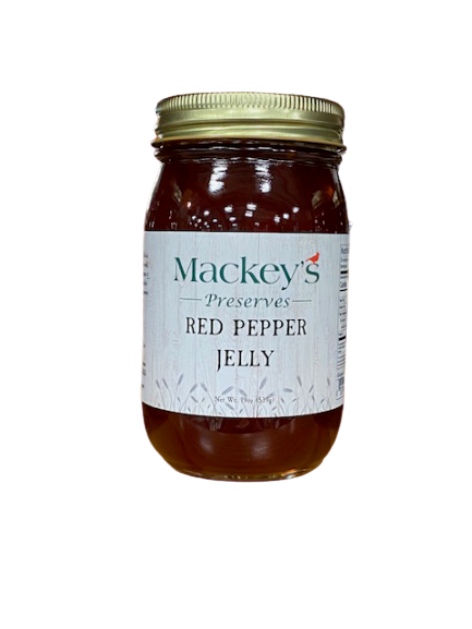 Mackey's Preserves, Red Pepper Jelly, 19oz