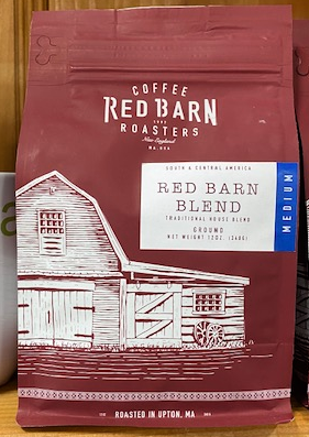Red Barn Coffee Roasters, Red Barn Blend, Ground, 12oz